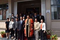 OFFICIAL VISIT OF DELEGATION FROM MEIZHOU,PROVINCE OF MEIXIAN TWINNED WITH CUREPIPE (2)