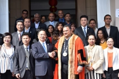 OFFICIAL VISIT OF DELEGATION FROM MEIZHOU,PROVINCE OF MEIXIAN TWINNED WITH CUREPIPE (4)